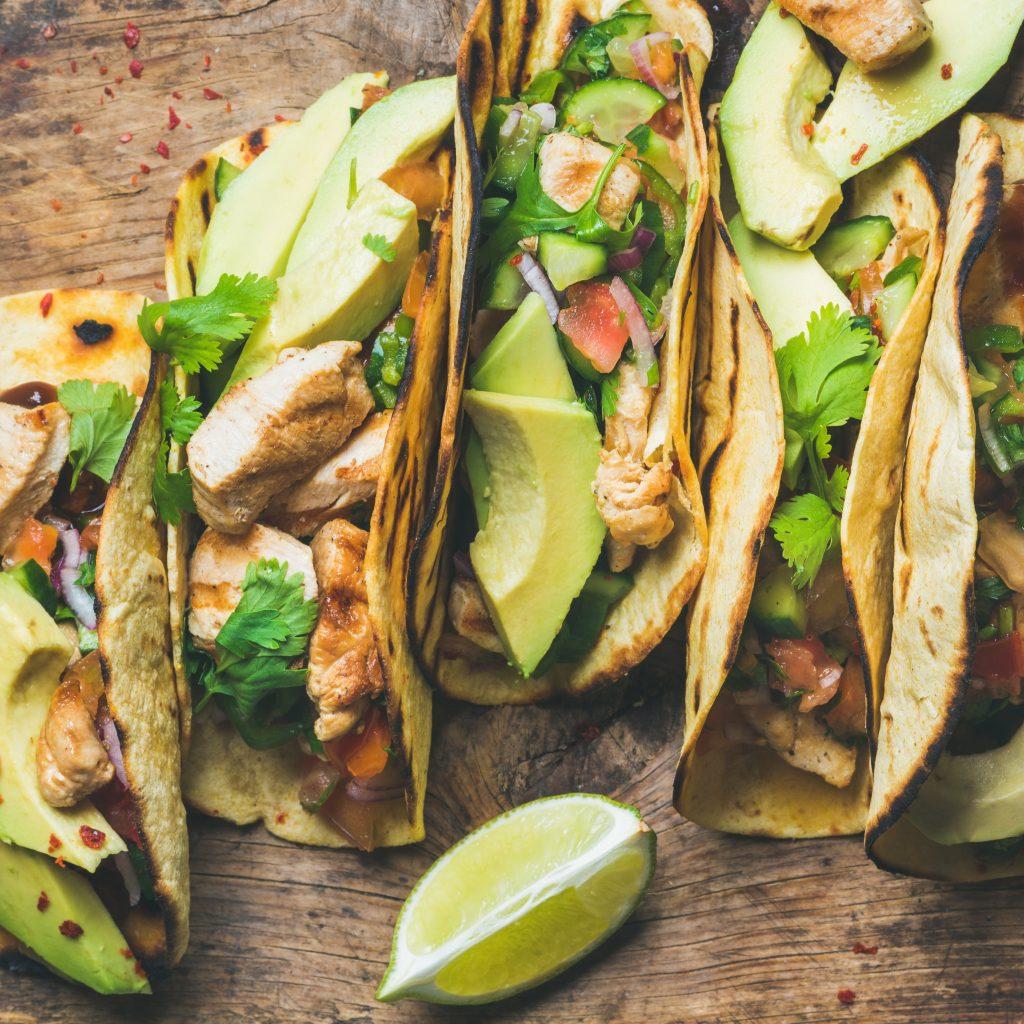 Healthy tacos selene genisella sgprogram