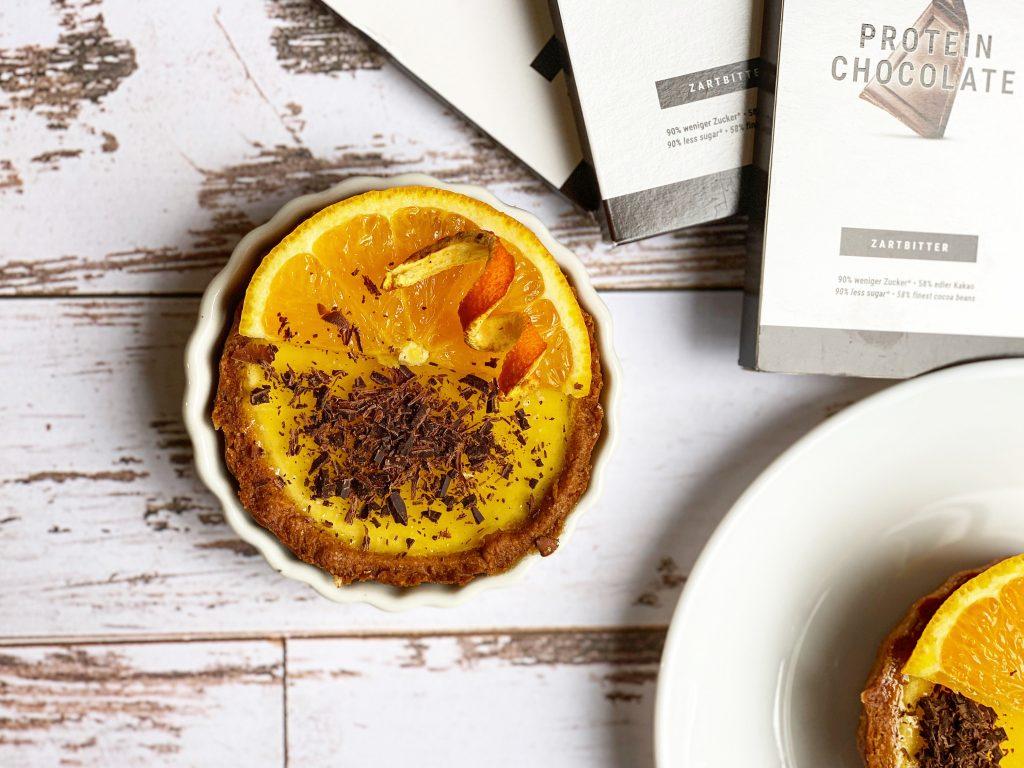 Crostatine ricotta, arancia e cioccolato SGProgram by Selene Genisella