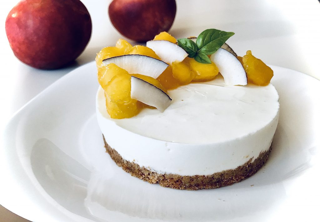 HAPPY PEACH CHEESECAKE sgprogram by selene genisella