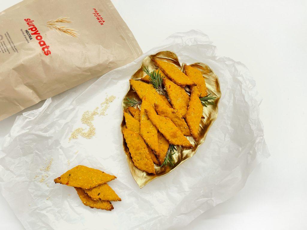 Pumpkin crispy bread SGProgram by Selene Genisella